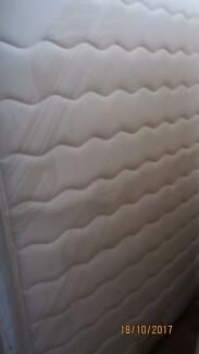 Double Bed Mattress and Base in Excellent Condition