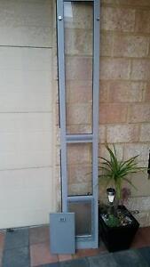 Patio Adjustable Pet Door Fits Sliding Door Scarborough Stirling Area Preview