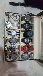 Multilot of watches G-shock Seiko Casio Citizen Tissot Canley Heights Fairfield Area Preview