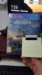 Final Fantasy XV PS4 Brand New Sealed Punchbowl Canterbury Area Preview