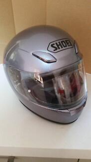 Shoei XR-1000 in Silver, size Large