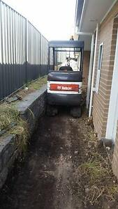 Chapman's Earthworks Mini Excavation Specialist Newcastle Newcastle Area Preview