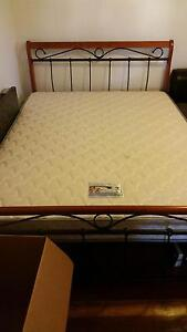 Queen Bed with mattress, Excellent Condition Torquay Surf Coast Preview