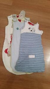 3x 2.5 tog  Baby sleeping bags Edwardstown Marion Area Preview