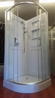 NEW SHOWER SCREEN ENCLOSURE BATHROOM CUBICLE - a2002s