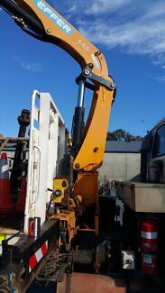 EFFER REMOTE 145 4S HIAB Type Truck Crane Busselton Busselton Area Preview