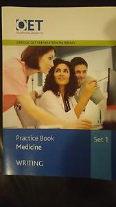 OET Practice Book MEDICINE Bundle purchased in June 2016 as New Sydney City Inner Sydney Preview