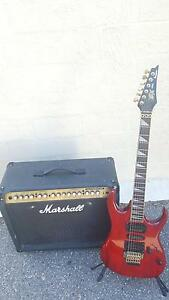 Ibanez EX Electric Guitar, Marshall Amp and Kawai Digital Piano Fremantle Fremantle Area Preview
