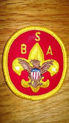 """Vintage""""BOY SCOUTS OF AMERICA"""" Heraldic,Coat of Arms Etc.Patch"""