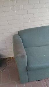 FREE GREEN LOUNGE SOFA BED Croydon Burwood Area Preview