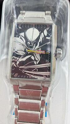 Marvel Wolverine Uhr Armbanduhr Quartz Edelstahl (cj230)