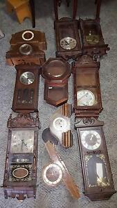Job Lot / Selection of Wall Clocks anbd Mantle Clocks Singleton Singleton Area Preview