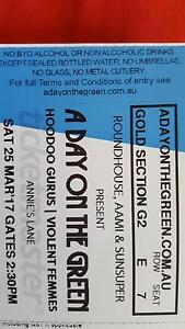 A Day on the Green, 2 tickets Craigmore Playford Area Preview