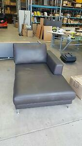 LEATHER DAY BED - lounge comfort sofa tv office work Murarrie Brisbane South East Preview