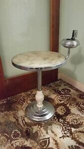 Retro round cigarette table Hope Valley Tea Tree Gully Area Preview