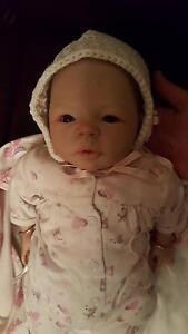 Reborn Baby Doll Zara rose Spearwood Cockburn Area Preview
