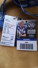 2016 Bulldogs Reserve Seats Watson North Canberra Preview