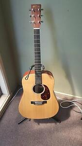 Martin DX1AE Acoustic Guitar w/ Hard Case, Strap and Stand Pakenham Cardinia Area Preview