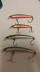 Fishing Lures: Smith, lucky craft, evergreen, yo-zuri, atomic etc Norman Park Brisbane South East Preview