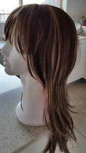 women  wig brown with blonde highlights Berwick Casey Area Preview