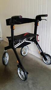 Wheelie Walker. Ellipse Superlight Carbon Fibre Rollator Townsville City Preview