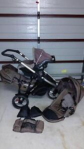 Strider Plus package with matching Britax car seat Augustine Heights Ipswich City Preview