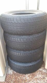 Dunlop tyres for  4x4