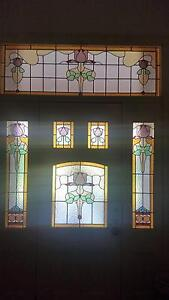 Stained glass windows for impressive Front door Artarmon Willoughby Area Preview