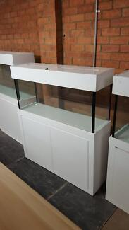 4FT Aquarium  Glass Fish Tank Modern Style Cabinet, Flat Hood | Pet  Products | Gumtree Australia Liverpool Area   Moorebank | 1034107850