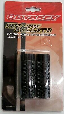 Fits 3//8 front or rear NOS Old School Alloy 24//26 thread BMX Freestyle Pegs