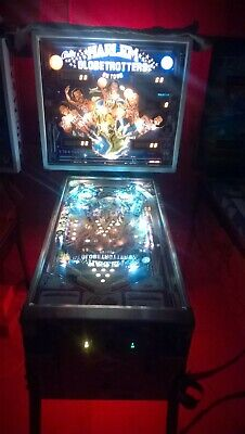 Classic 1979 Bally Harlem Globetrotters Pinball Machine - WARRANTY Collectors!