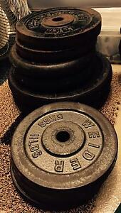 Barbells and weights Carramar Wanneroo Area Preview