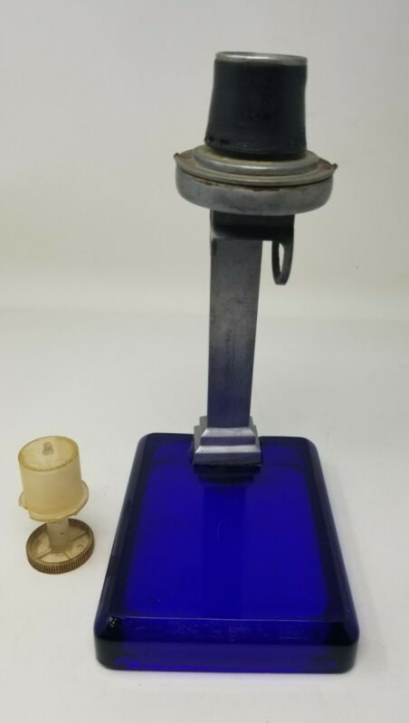 Emerson Drug Co. Baltimore City Maryland Cobalt Glass Bromo-Seltzer Dispenser