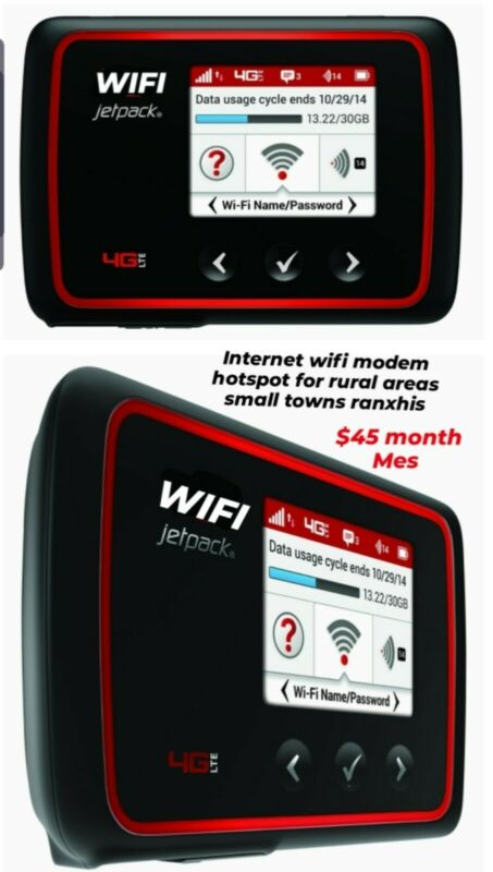 WiFi Hotspot Modem internet with 30day unlimited service