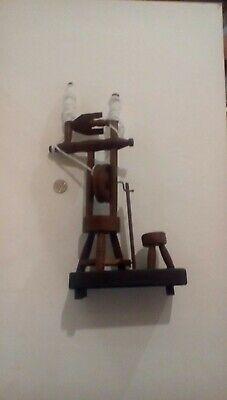 handmade irish spinning wheel