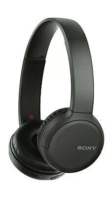 Sony WH-CH510 Bluetooth Wireless Headphones. Black. Free postage.