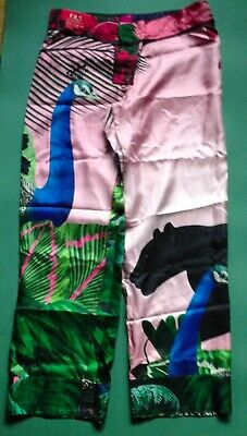 F.R.S FOR RESTLESS SLEEPERS SILK TROUSERS PANTS NEW