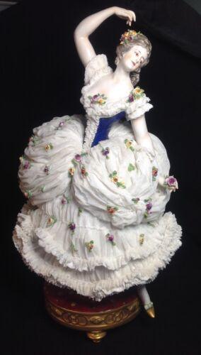 Antique German Porcelain Dancing Figure