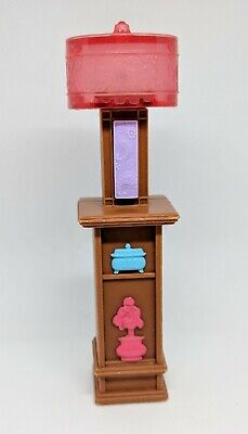 💡Fisher Price Loving Family Dollhouse Light Up Lamp on Brown Shelf Works HTF