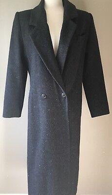 Womens ADOLFO 100% Wool Coat  Size 6