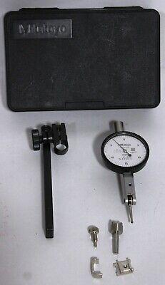 Mitutoyo 513-402-10t Dial Test Indicator 0-.03 Range .0005 Graduation