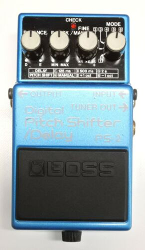 BOSS PS-2 Digital Pitch Shifter Delay Guitar Effects Pedal 1993 #101 DHL or EMS