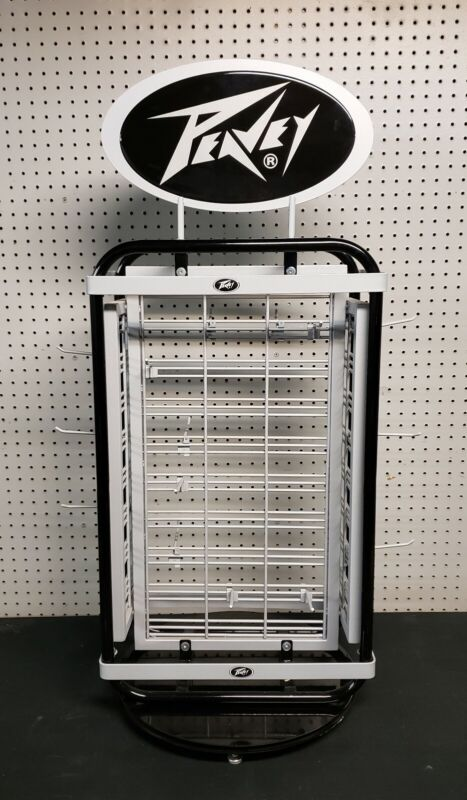 Peavey Rotating Tabletop Store Accessory Display (Dealer Display)