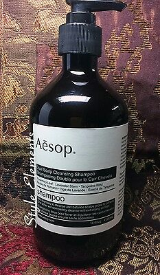 Aesop Dual Scalp Cleansing Shampoo 16 9 Fl Oz 500 Ml New Discontinued Rare Item