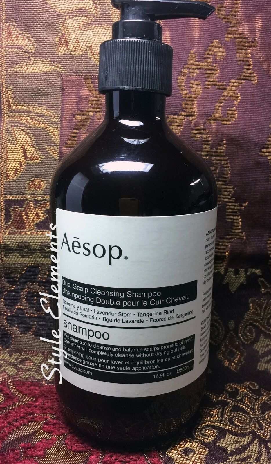 Aesop Dual Scalp Cleansing Shampoo-16.9 fl oz/500 mL-New-