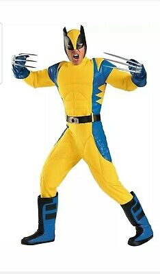 Halloween Costumes Rentals (Wolverine X-Men Days of Future Past Rental Quality Halloween Costume Size)