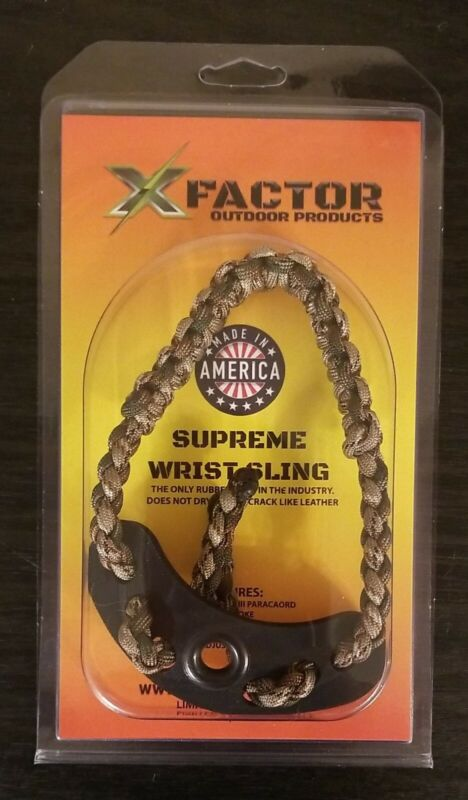 NEW X-Factor Outdoor Products Supreme Camo Wrist Sling-Make me an offer!