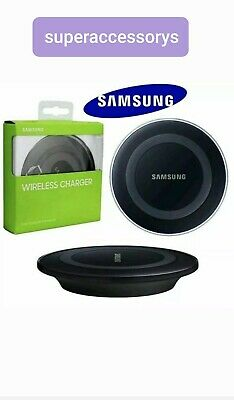 Samsung Wireless Fast Charger Station + Cable for Galaxy S10 S9 S8 Plus S6 S7