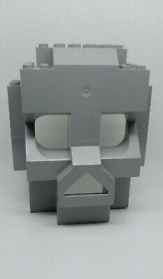 Lego 47991 Light Gray Rock Panel 4x10x10 from Castle SKULL ISLAND 3827 Set