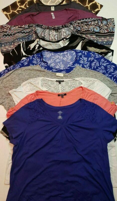 Lot of 5 Shirts, Tops, Blouses Mixed Lot Women
